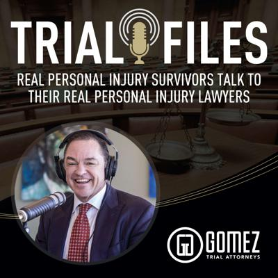 Cover art for Episode 2:  A brain injury survivor discusses his case and working with Gomez Trial Attorneys.