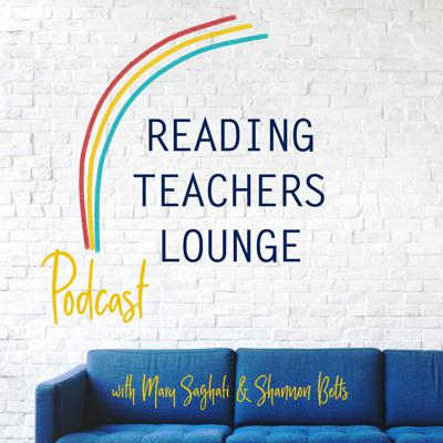 """This is the Reading Teachers Lounge where listeners can eavesdrop on professional conversations between elementary reading teachers. We are passionate about literacy and strive to find strategies to reach all learners. Shannon and Mary are neighbors who realized that they were """"literacy soul sisters"""" at a dinner in their Atlanta neighborhood. Once they started chatting about reading they haven't really stopped. Come join the conversation."""