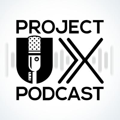 On the ProjectUX podcast we dive deep into the multitude of topics that make up the discipline of User Experience (UX). From the latest news in tech and design to insights into the field of design and research we tackle it all. Brought to you by the producers of the web series ProjectUX, the UX show for startups.