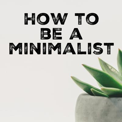 The How to be a Minimalist podcast is all about exploring minimalism and the many areas of life it touches. I'll be talking a lot more about how to live an experience-based life, emotional minimalism, and how to discover your minimalist WHYS than the most efficient, space-saving technique for folding your undies or how to create a minimalist-magazine-cover home. Don't worry, though — there will be some of those types of things, too. But here, I'd like to dive in deeper than simply living with less.