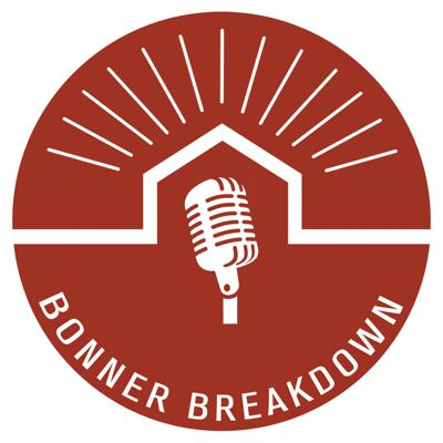 The Bonner Breakdown is a long-form interview show highlighting guests from across the Idaho Panhandle. We focus on discovering people's stories, history, organization, and motives.  We use very few pre-scripted questions, and allow the conversation to flow openly in order to have great conversations, create connection and celebrate the great things happening in North Idaho.