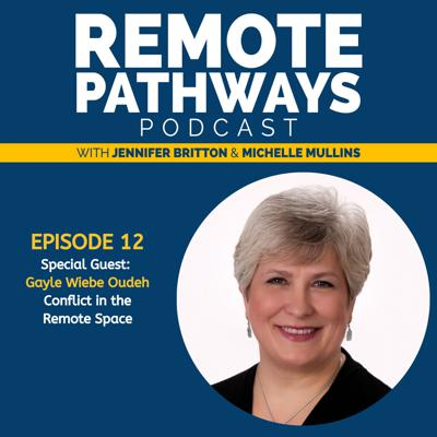 Cover art for EP012: Gayle Oudeh, Conflict in the Remote Space