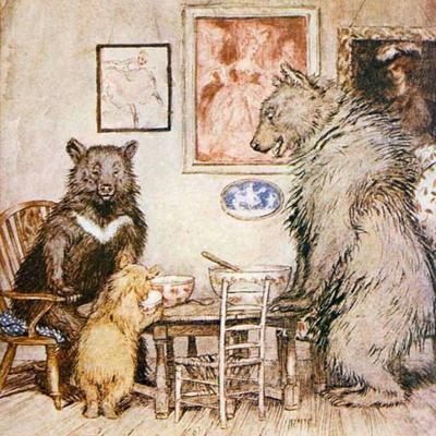 Cover art for The Story of the Three Bears by Robert Southey