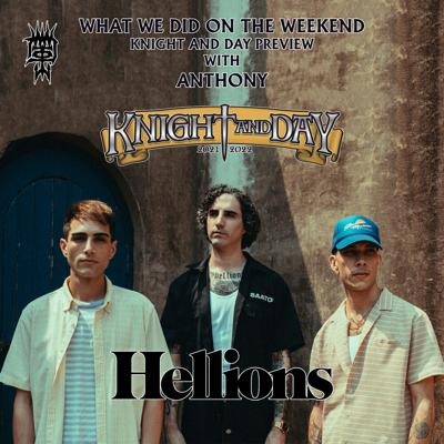 Cover art for Knight & Day with Hellions