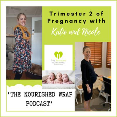 Cover art for Trimester 2 of Pregnancy... Nicole and Katie Share Their Own Experience
