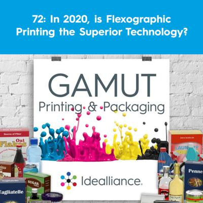 Cover art for 72: In 2020, is Flexographic Printing the Superior Technology?