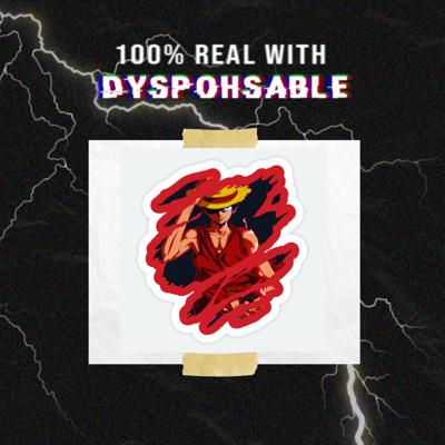 100% REAL W DYSPOHSABLE