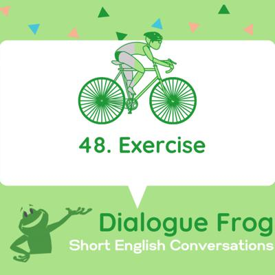 Cover art for 048 Exercise- Short English Conversation Practice