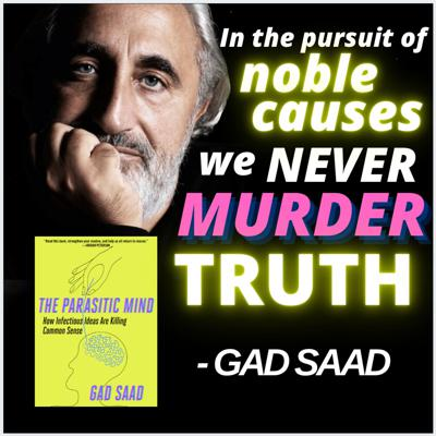 Cover art for The Max Bernier Show - Ep. 8: Dr Gad Saad on his new book