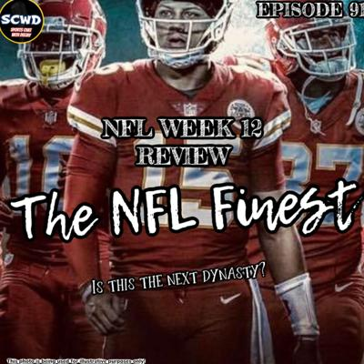 Cover art for NFL Week 12 Review: Are the Chiefs the best team in the league?