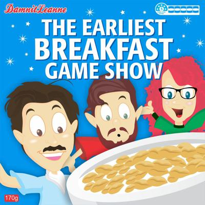 Maybe not the smartest game show. Maybe not the greatest. Definitely not the best prizes. But the earliest. We record at exactly midnight, just to be sure. If you like breakfast, and you like improv, and you like games, then this 45 minutes of silliness and fun chats will be right up your alley. And don't forget; the Earliest Breakfast Game Show is the most important podcast of your day.