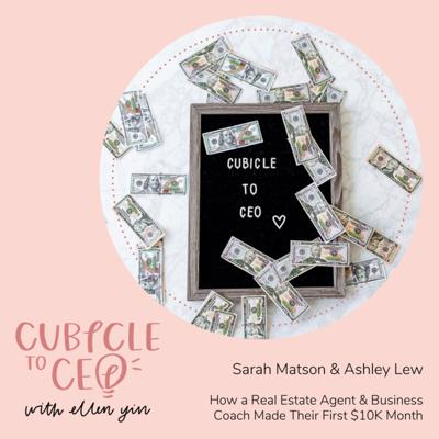 Cover art for How a Real Estate Agent & Business Coach Made Their First $10K Month