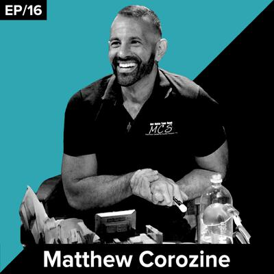 Cover art for Matthew Corozine / acting coach & owner of MCS, the NYC-based acting studio