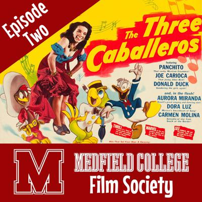 Cover art for The Three Caballeros