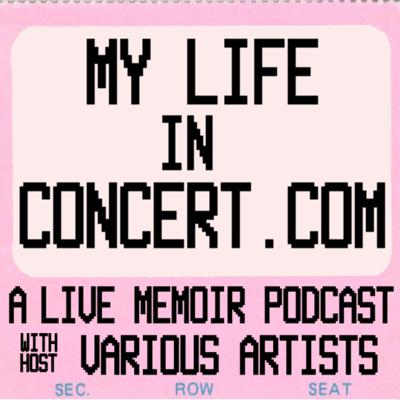 """Welcome to the My Life in Concert podcast! Join me, your host Various Artists, on my musical time travel as I look back on (almost) every live gig I have seen from 1975 to the present.                   This podcast series started life as a blog on Salon.com's late, great OpenSalon.com in 2010. It gained a regular readership there until OS closed in 2015, and is now being resurrected as a podcast in February 2020.                     I've been a lifelong tunehead and fan of many genres with a particular passion for live shows, big and small. And while I'll be discussing the music played, the podcast won't simply be a critique of the performance.People recall a gig's small moments that can end up defining the event in one's mental hard drive sometimes more than the tunes: what happened before and after; things seen and heard; technical malfunctions, musicians passing out on stage, etc.                 Therefore, the podcast is about the """"concert-going experience"""" rather than simply being a description of the performance: a mixture of concert review, music history, memoir, and philosophical musing.                       While my main musical bases in the 70s were glam in the earlier part of the decade and punk in the latter half, my tastes have exploded through the years. The podcast will go on to encompass live concerts in many genres: r&b, jazz, folk, pop, electronic, hip-hop, country & Americana, pop, blues, reggae, and more.I grew up in and have returned to London, Ontario, Canada (with a 20-year stop in Ottawa).             While I will be remembering shows from a variety of locations including Toronto, Montreal, Vancouver, Detroit, NYC, and more, many of the early episodes will focus on concerts that took place in the Forest City from the 70s through the 90s … and now again in recent years (it will be Ottawa-heavy in-between.) There will be notable local visits by Elvis Costello, The Smiths, Iggy Pop, Marianne Faithfull, Radiohead, Joe Jackson, Steve Earle, k.d."""