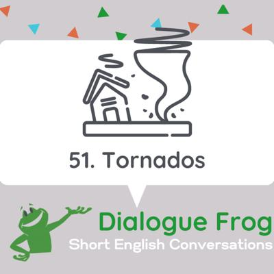 Cover art for 051 Tornados – English Listening Podcast