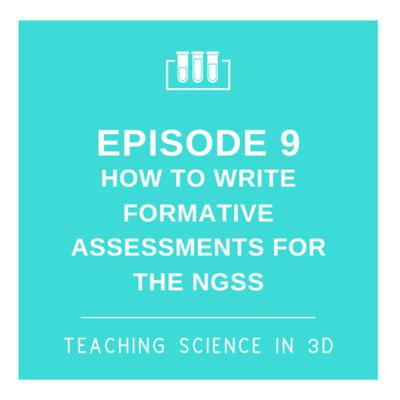 Cover art for S2E9 How To Write 3D Formative Assessments