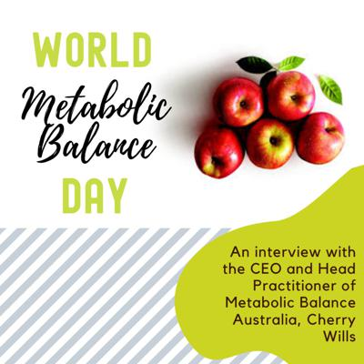 Cover art for An Interview with the CEO and Head Practitioner of Metabolic Balance Australia, Cherry Wills