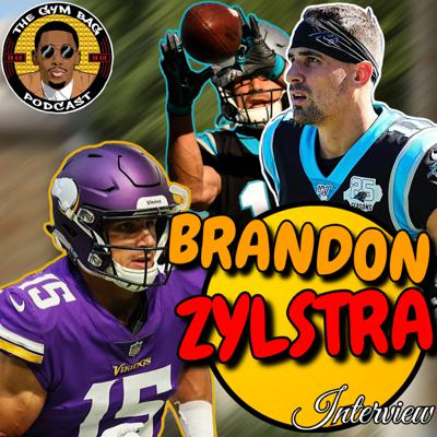 Cover art for CAROLINA PANTHERS' WR BRANDON ZYLSTRA INTERVIEW!!!