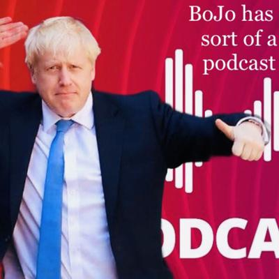 """Cover art for Bonus episode: """"Boris Johnson has a bit of podcast"""" with Dominic Cummings featuring Hillary Clinton and Bernie Sanders"""