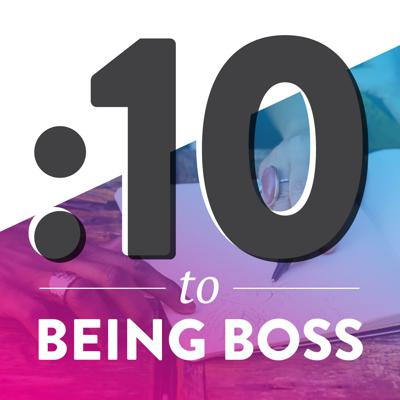 10 Minutes to Being Boss is a bite-sized show for creative entrepreneurs. We're taking listener questions and giving out actionable insights, tools, and tactics in around just :10 minutes. Join Emily Thompson and her plucky sidekick Corey Winter every Monday as you start your work week. Brought to you by the team behind the Being Boss podcast.