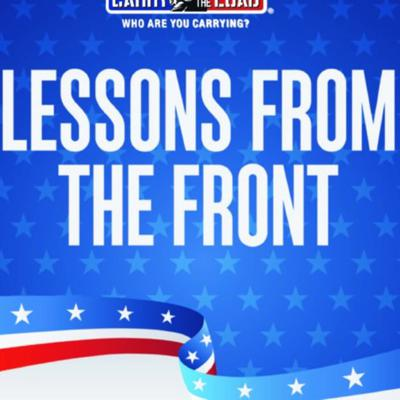 Cover art for 21. Lessons From the Front, Carry The Load Podcast (I'm interviewed)