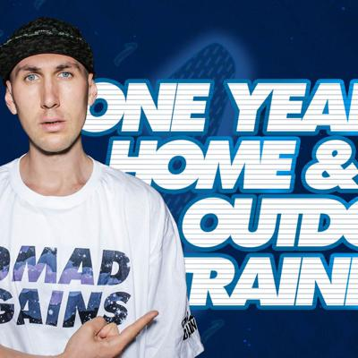 Cover art for One Year of Home and Outdoor Training
