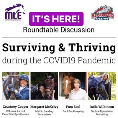 Cover art for Bonus Episode. Surviving & Thriving in Equestrian Business During the COVID19 Pandemic