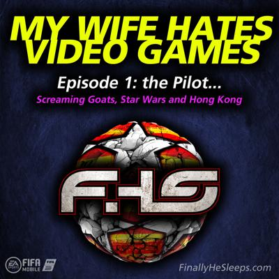 Cover art for Episode 1 - the Pilot... Screaming Goats, Star Wars and Hong Kong