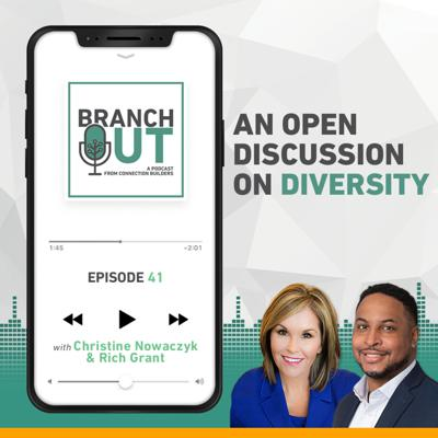 Cover art for An Open Discussion on Diversity – Christine Nowaczyk & Rich Grant