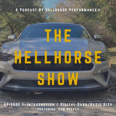 Cover art for Introductions to Hellhorse Podcast.  Discussion about Cluster, Radios, and Conversions.