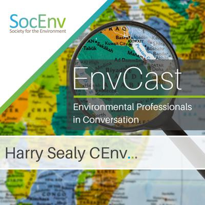 Cover art for In Conversation with Harry Sealy CEnv