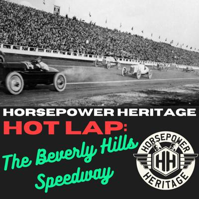 Cover art for HOT LAP: The Beverly Hills Speedway