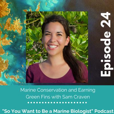 Cover art for 24. Marine Conservation and Earning Green Fins with Sam Craven