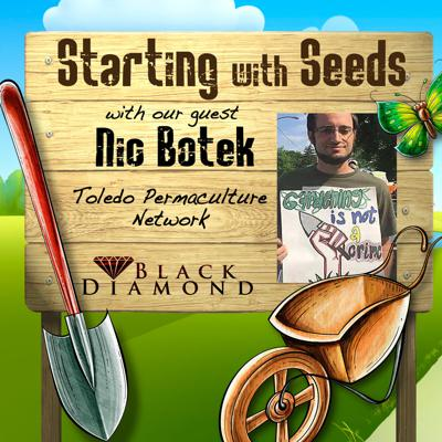 Cover art for Starting with Seeds - Nic Botek