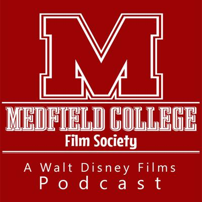 Podcasting about classic Disney films, live from scenic Medfield College. Hosted by Robert McSwain, Jeff Crawford, Andy Brown and Michael Crawford.