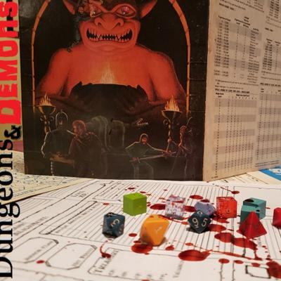 Cover art for Dungeons and Demons