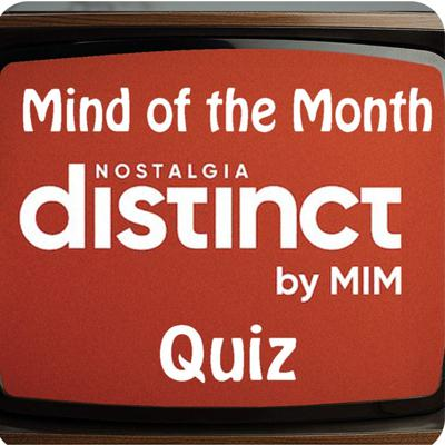 Cover art for Distinct Nostalgia Mind of the Month Quiz - Series 2, FINAL