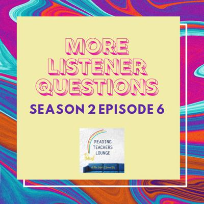 Cover art for More Listener Questions Answered