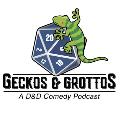 Geckos & Grottos DND is a Dungeons & Dragons comedy podcast with a built in drinking game; the only rule is that there are no rules! Join the cast of players as they drink and adventure their way through the various worlds that are brought to life from their spooky and weird minds!Follow us on Facebook: http://bit.ly/2JejxYOFind us everywhere!Itunes: https://buff.ly/2YIGI7G⠀Google Play: https://buff.ly/35KSrqF⠀Spotify: https://buff.ly/33e4c7aWeb: https://buff.ly/3gF0J57⠀