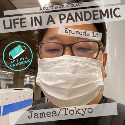 Cover art for James in Tokyo