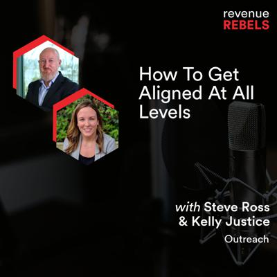 Cover art for How To Get Aligned At All Levels with Marketing & Sales Duo at Outreach