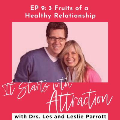 Cover art for 3 Fruits Of A Healthy Relationship with Drs. Les and Leslie Parrott