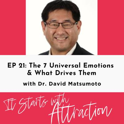 The 7 Universal Emotions & What Drives Them with Dr. David Matsumoto