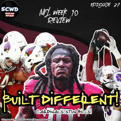 Cover art for NFL Week 10 Review: Built Different!!