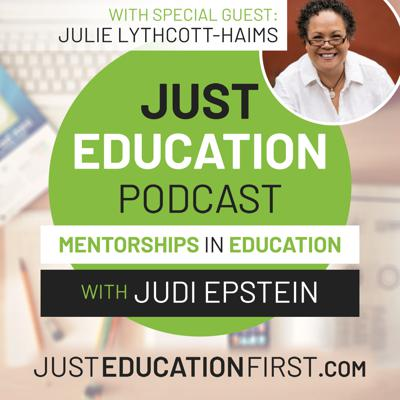 Cover art for Episode 38 - Julie Lythcott-Haims | The Peeling the layers of Teaching in Covidland