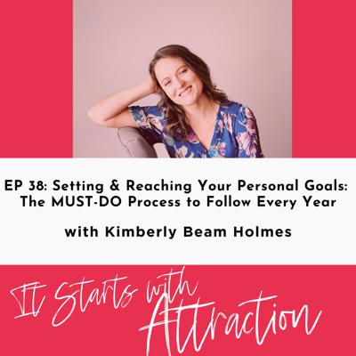 Cover art for Setting & Reaching Your Personal Goals: The MUST-DO Process to Follow Every Year