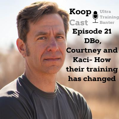 Cover art for Dylan Bowman, Courtney Dauwalter and Kaci Lickteig- How their training has changed⎮KoopCast Episode 21
