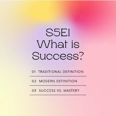Cover art for S5E1 What is Success?