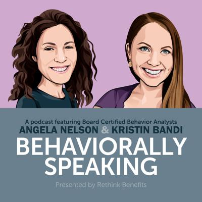 Board Certified Behavior Analysts Angela Nelson and Kristin Bandi bring together more than three decades of experience working with children, teens, and their parents. Their knowledge and expertise in implementing Applied Behavior Analysis (ABA) therapy has already helped thousands of parents better understand their children and improve everyday behaviors. Behaviorally Speaking focuses on common scenarios most parents face and provides tangible, lighthearted tips and techniques you can use in your own home.